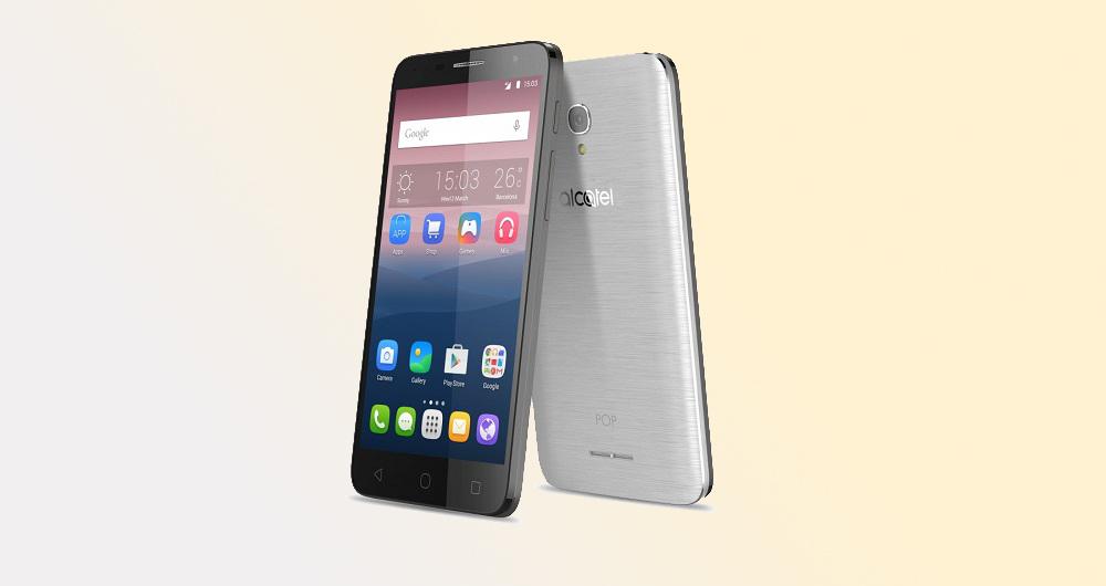 آلکاتل از سری گوشیهای POP 4 رونمایی کرد
