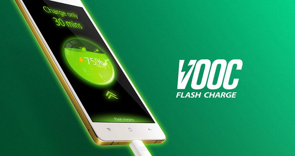 با فناوری VOOC شرکت OPPO در پنج دقیقه تلفن هوشمندتان را شارژ کنید