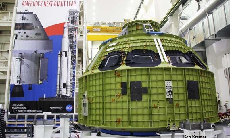 ناسا از اوریون رونمایی کرد