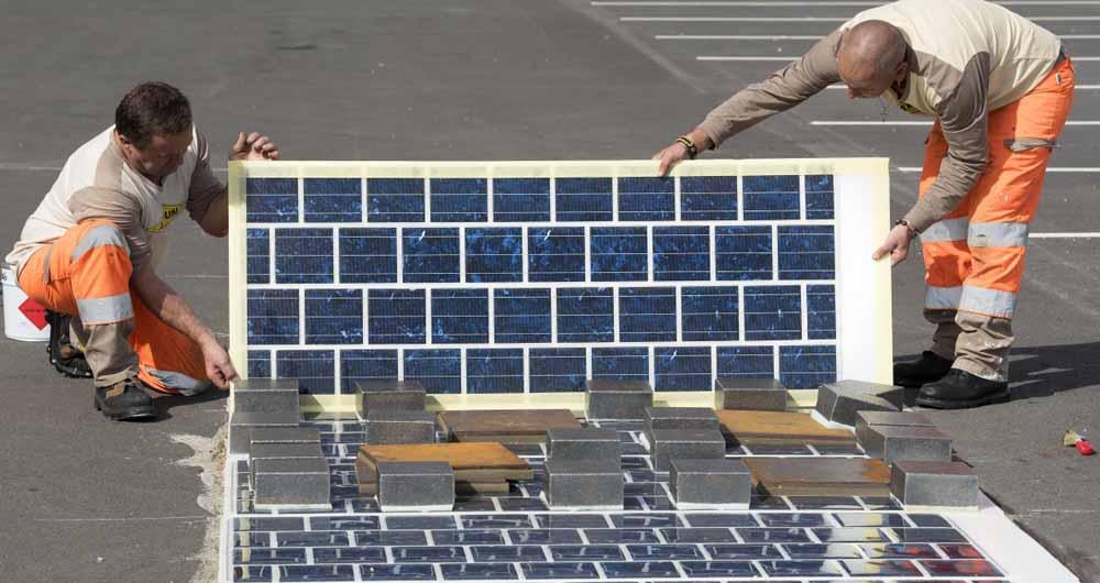 احداث 1000 کیلومتر جاده خورشیدی در فرانسه