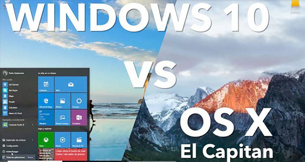 شکافهای سیستمعامل ویندوز ۱۰ در مقابل OS X El Capitan