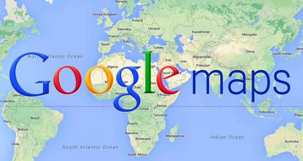 گوگل مپ زندگی را آسانتر می کند