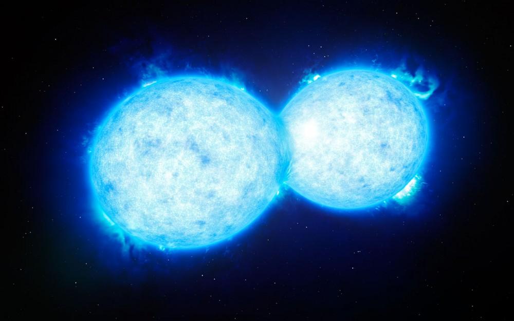 ابزار سیاه چاله یاب VLT یک ستاره دوتایی جدید کشف کرد