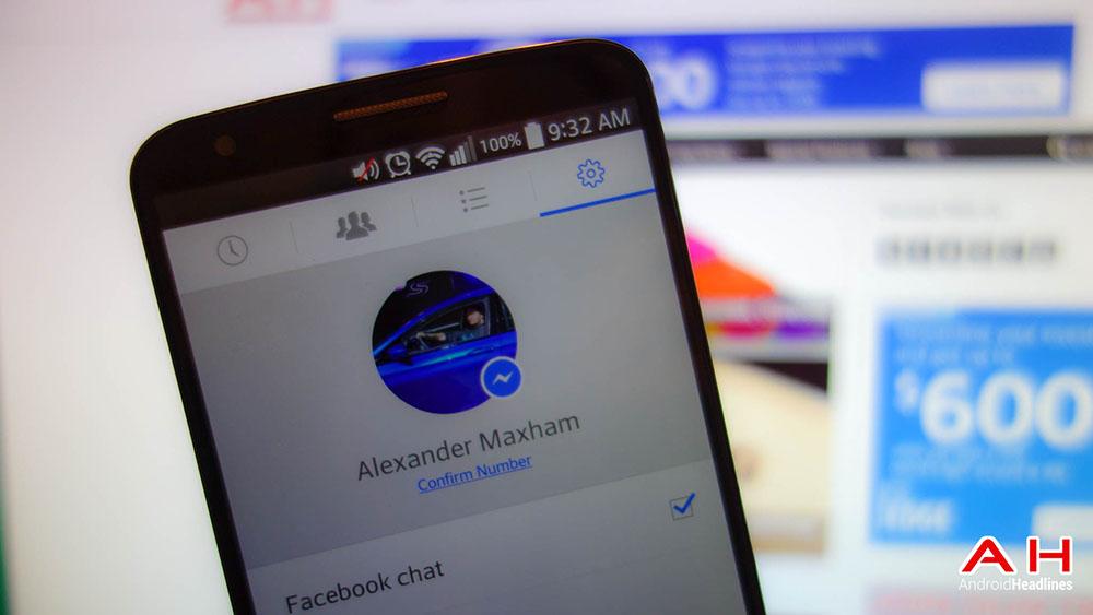 پیام رسان فیس بوک از چند حساب کاربری همزمان پشتیبانی می کند