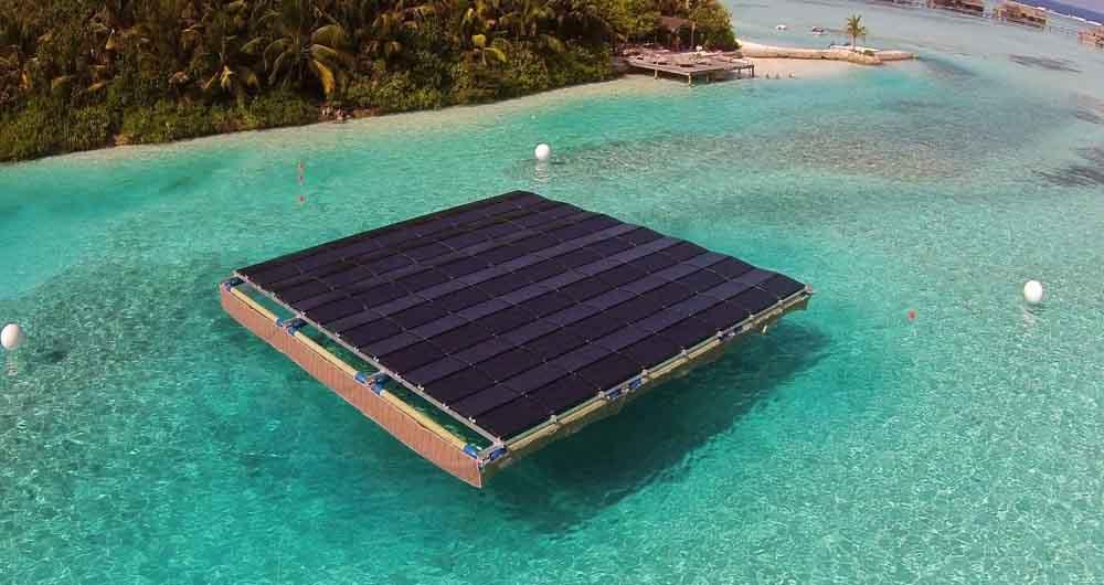ساخت بزرگترین پنل خورشیدی سیال جهان در ژاپن