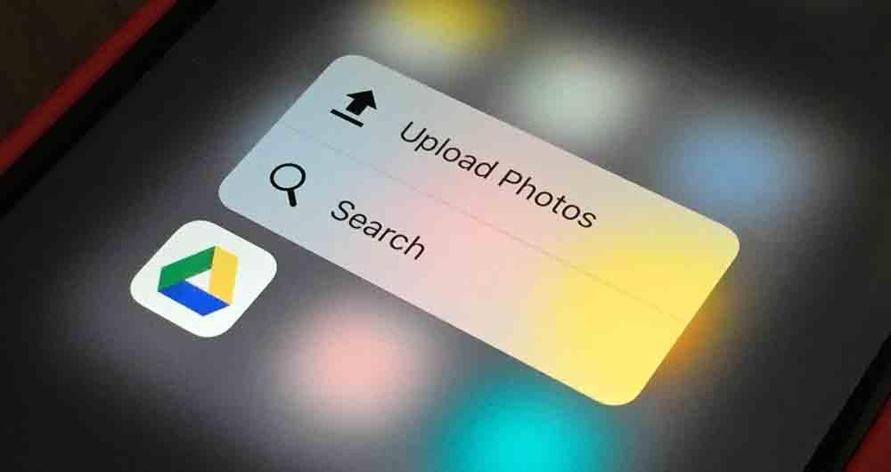 منظم شدن فایل ها در گوگل درایو