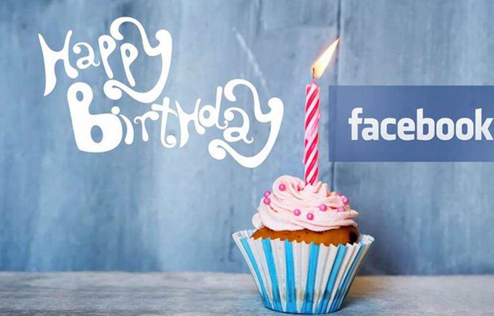 ابتکار جدید فیسبوک در تبریک تولد به کاربران