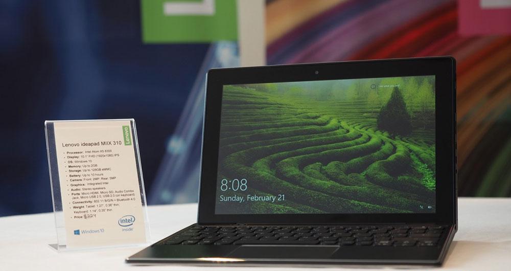 تبلت Ideapad MIIX 310 لنوو رسما معرفی شد