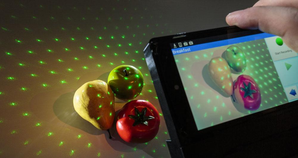 محاسبه میزان کالری غذا با گوشی هوشمند
