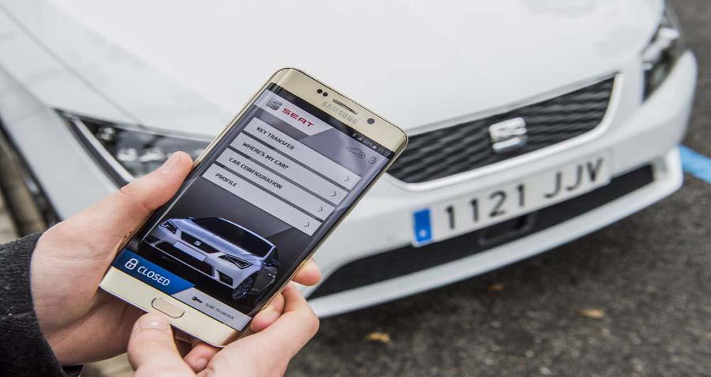 سامسونگ در پروژه خودرو های هوشمند با SEAT و SAP همکاری می کند