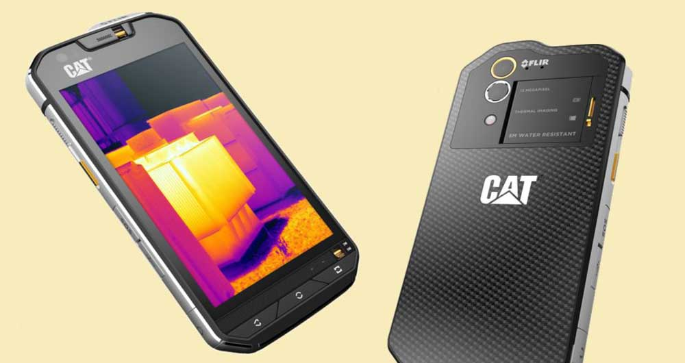 S60؛ اولین گوشی با قابلیت تصویربرداری حرارتی