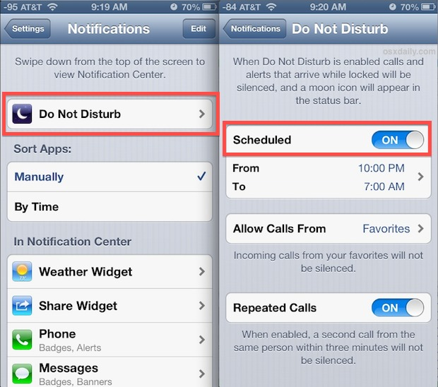 do-not-disturb-schedule-ios