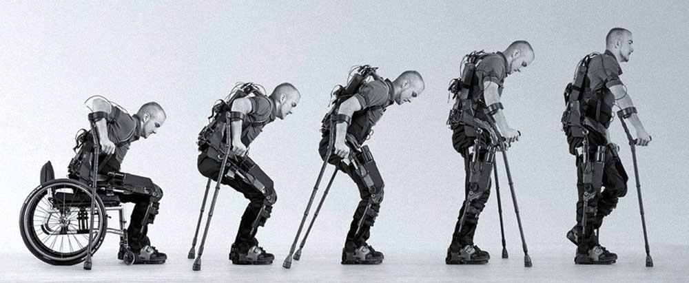 ربات های پوشیدنی به کمک افراد معلول می آیند