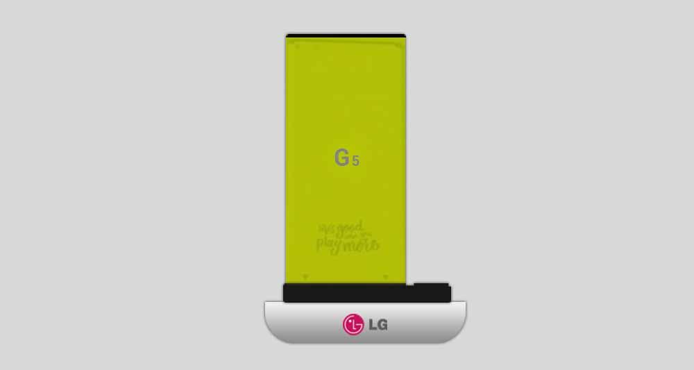 تصویر جدید از باتری قابل جداسازی LG G5 منتشر شد