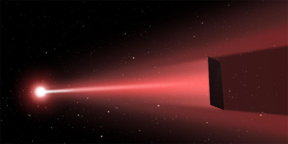 سفینه های فضایی کوچک با لیزر به ستاره ها فرستاده می شوند