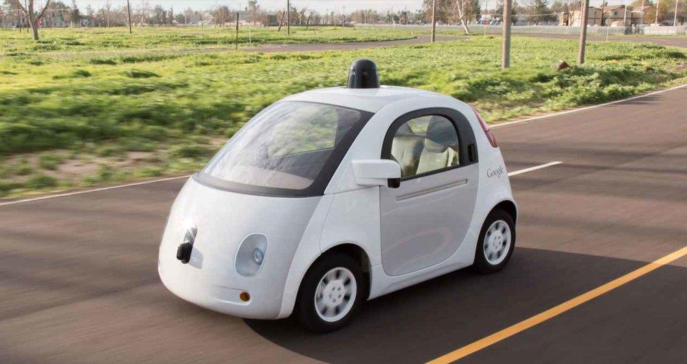 alphabet self-driving car