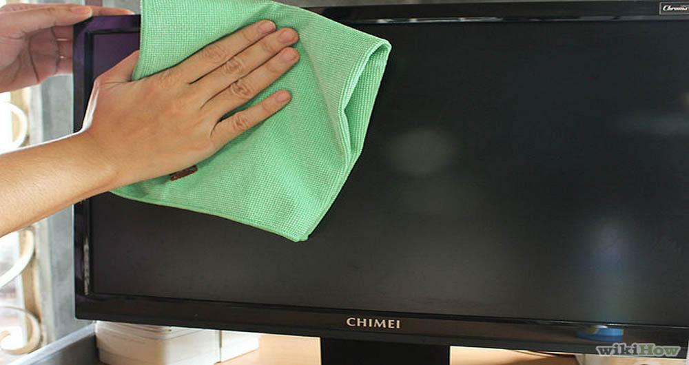 چگونه صفحه نمایش کامپیوتر را تمیز کنیم؟