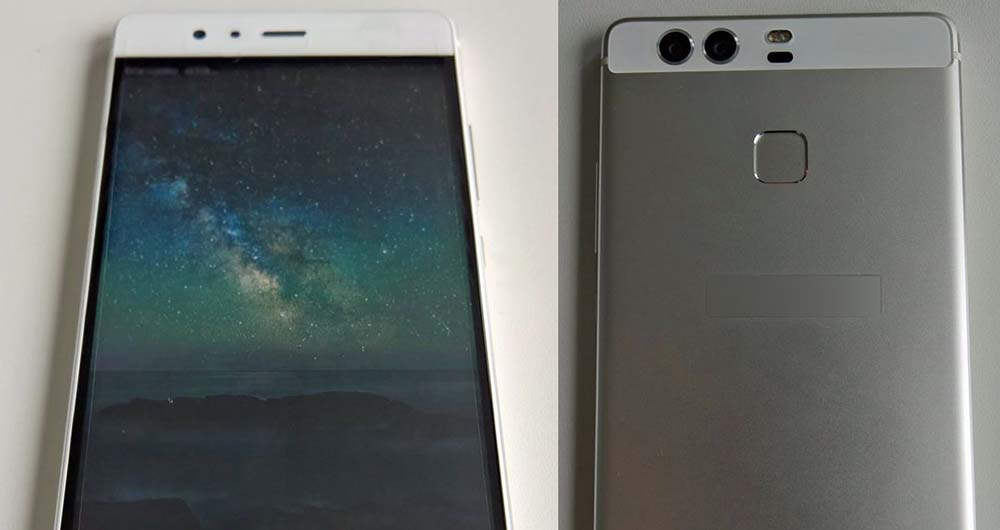 تصاویر لو رفته از رئیس شرکت هوآوی در حین استفاده از گوشی P9