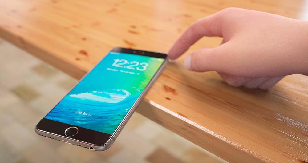 تصویر جدید آیفون ۷ اپل از تجهیز دستگاه به نمایشگری بدون حاشیه خبر میدهد