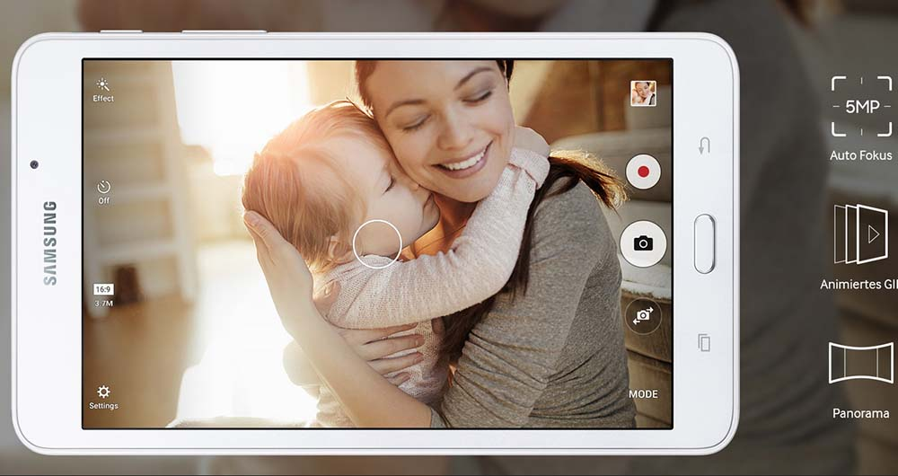 نسخه ۲۰۱۶ تبلت Galaxy Tab A سامسونگ رسما معرفی شد