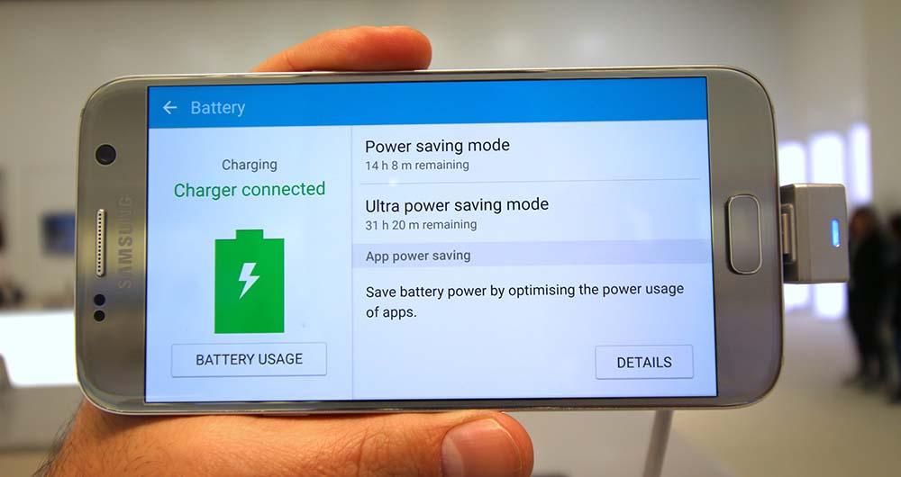 بررسی دقیق عملکرد باتری گلکسی S7 سامسونگ