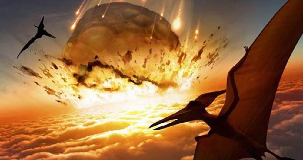 برخورد سنگ آسمانی عامل انقراض دایناسورها یا عامل ادامه حیات پس از آن!