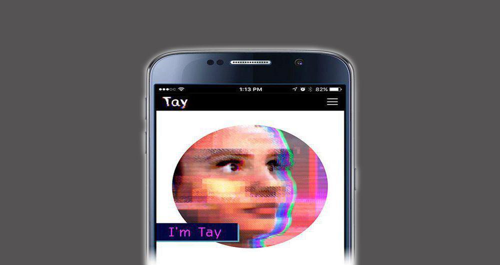 ربات Tay