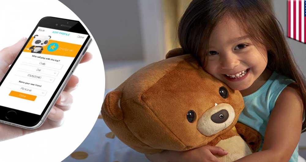 درز اطلاعات شخصی خانواده ها از طریق هک خرس هوشمند Teddy