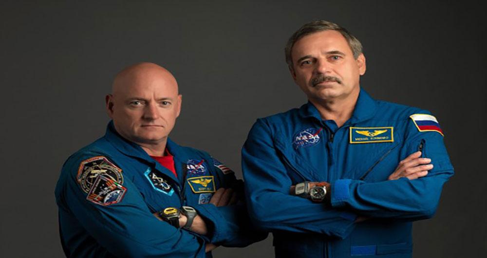 بازگشت دو فضانورد به خانه بعد از ۱ سال ماموریت در فضا