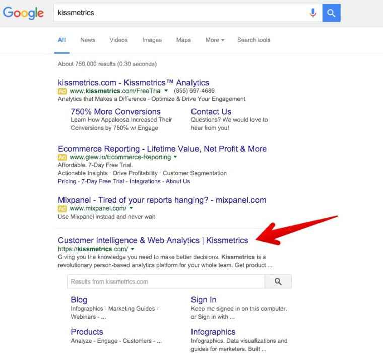 نتایج گوگل