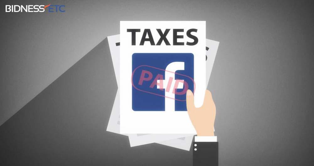 فرار مالیاتی فیسبوک در انگلستان