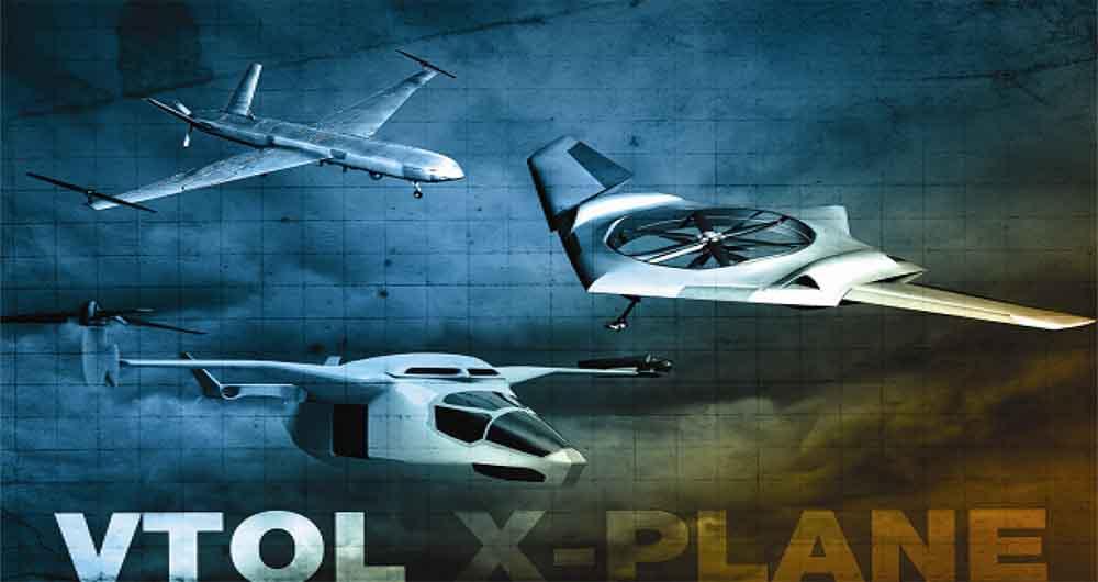 طراحی هواپیمای جدید DARPA با قابلیت برخاستن عمودی