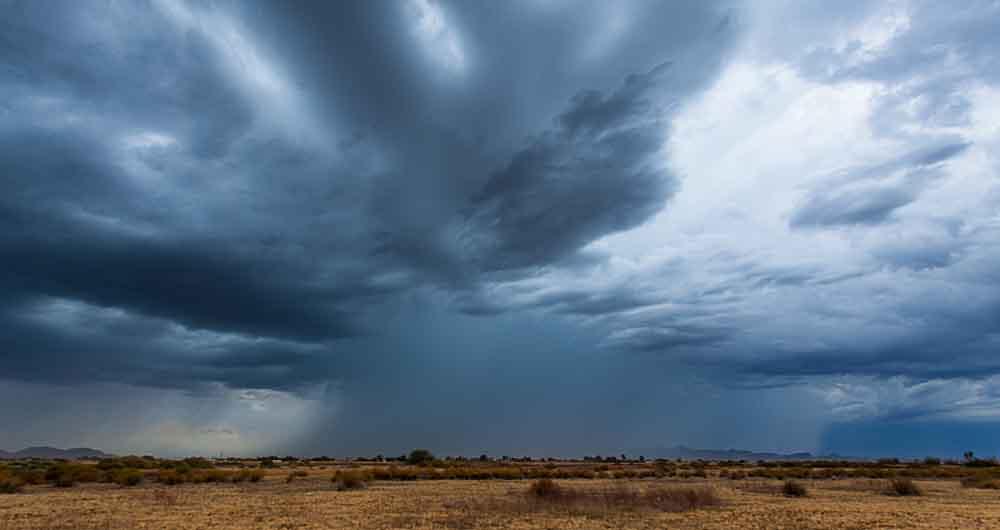 پدیده عجیب بارندگی شدید در مناطق کویری با گرم شدن زمین