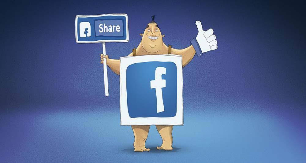 رابطه بین مغز و به اشتراک گذاشتن اطلاعات در فیس بوک