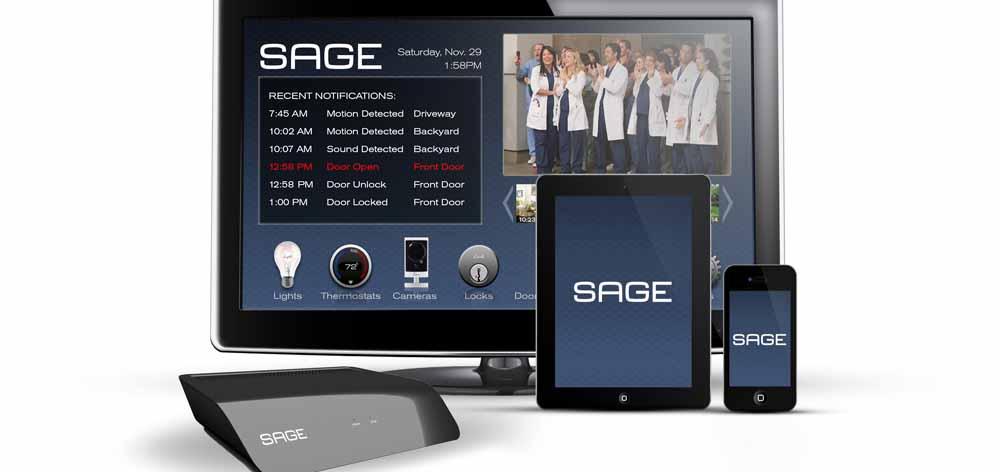 ایمن کردن خانه با سیستم حفاظتی مدرن Sage