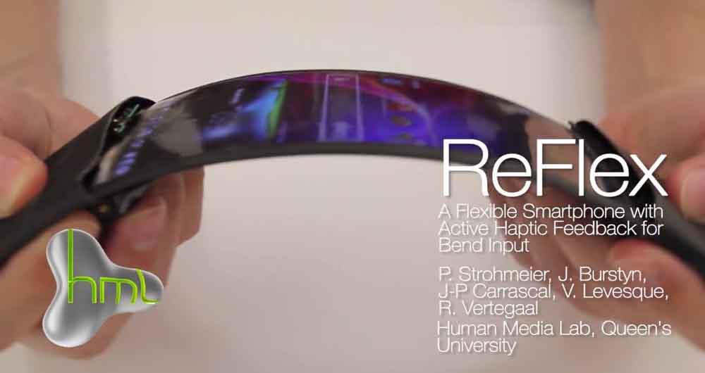 تعامل واقعی با اپلیکیشن ها در گوشی های جدید ReFlex