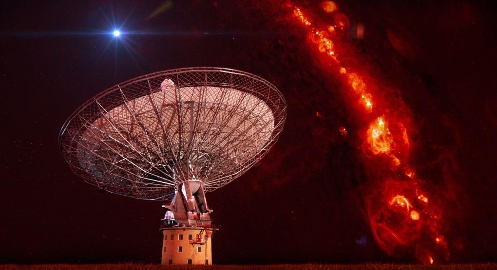 سیگنال های رادیویی فضایی