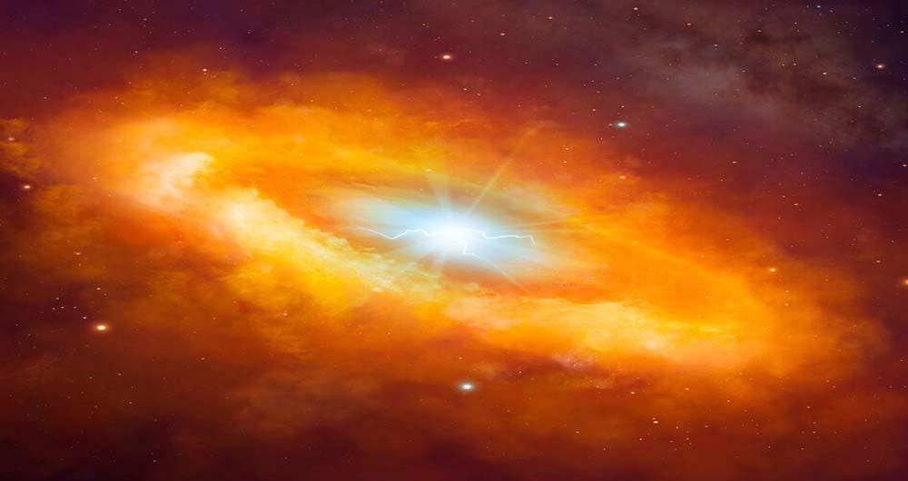 کشف منبع  انرژی ناشناخته در مرکز کهکشان راه شیری