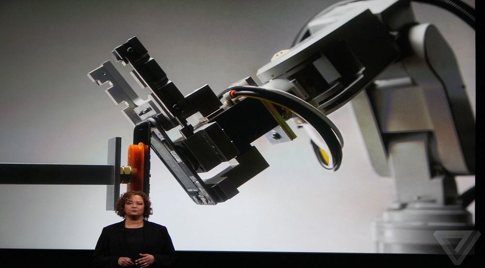 معرفی ربات اپل برای بازیافت اجزای آیفون