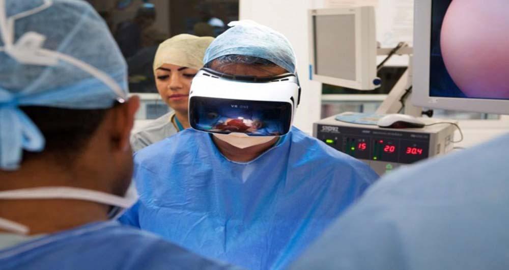 پخش زنده عمل جراحی به کمک فناوری واقعیت مجازی