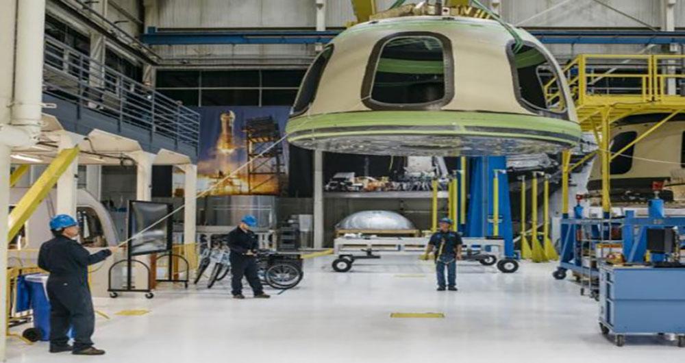 پروازهای توریستی به فضا در سال ۲۰۱۸ تحقق می یابد