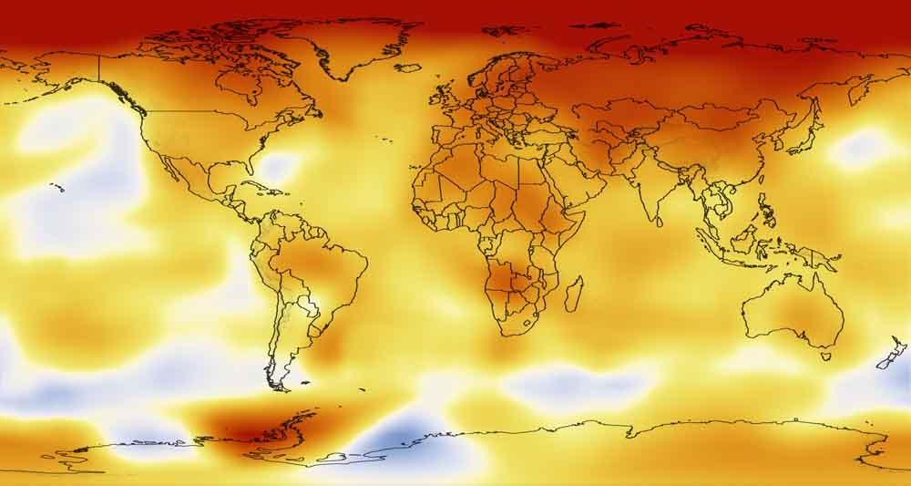 رکورد دمای یک قرن اخیر زمین شکسته خواهد شد
