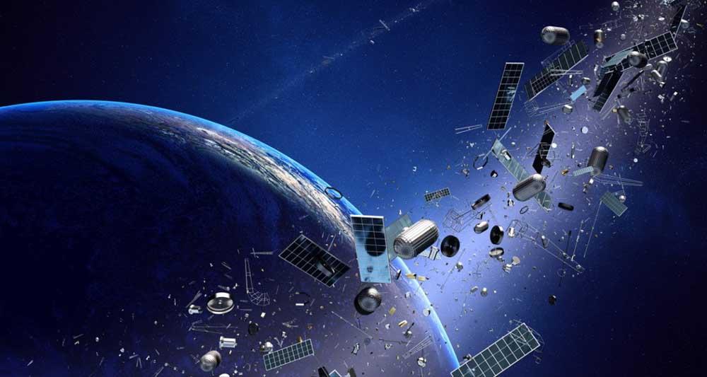 راه حلی برای جمع آوری زباله های فضایی