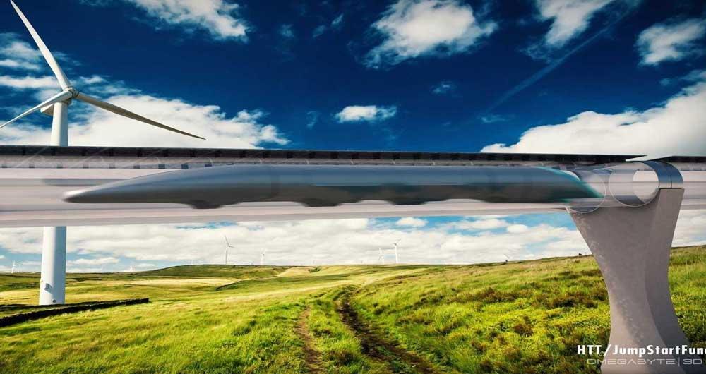 ساخت اولین Hyperloop در اروپا