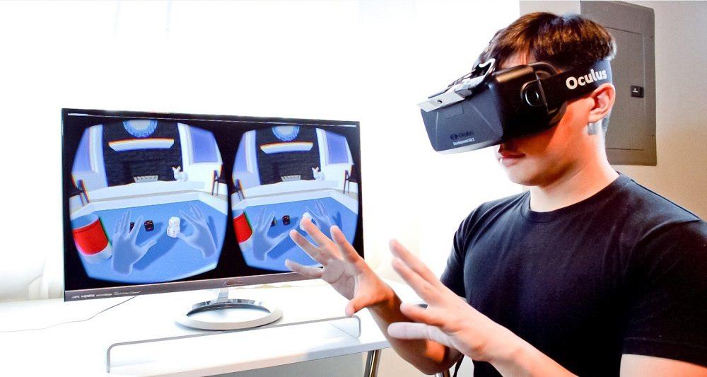 هدست اوکولوس با تکنولوژی واقعیت مجازی