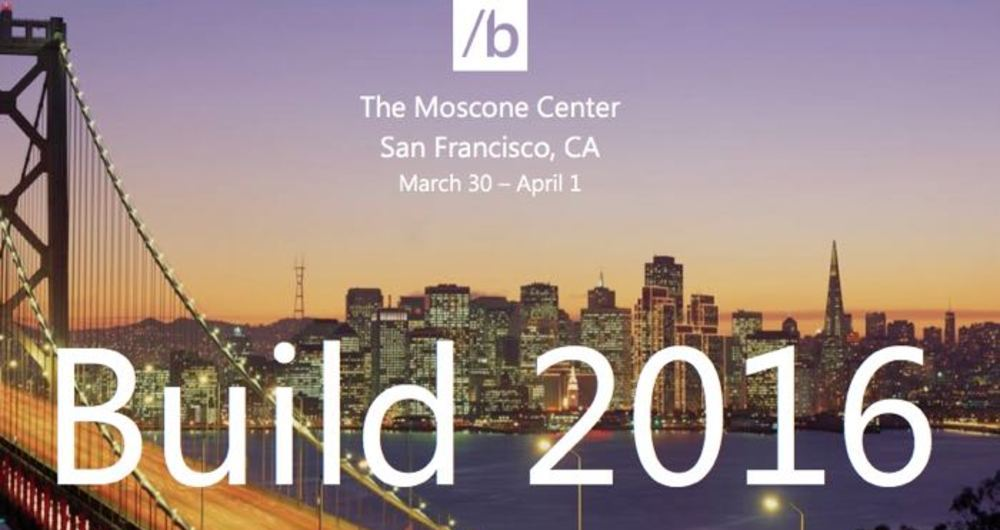 کنفراس Build 2016 مایکروسافت