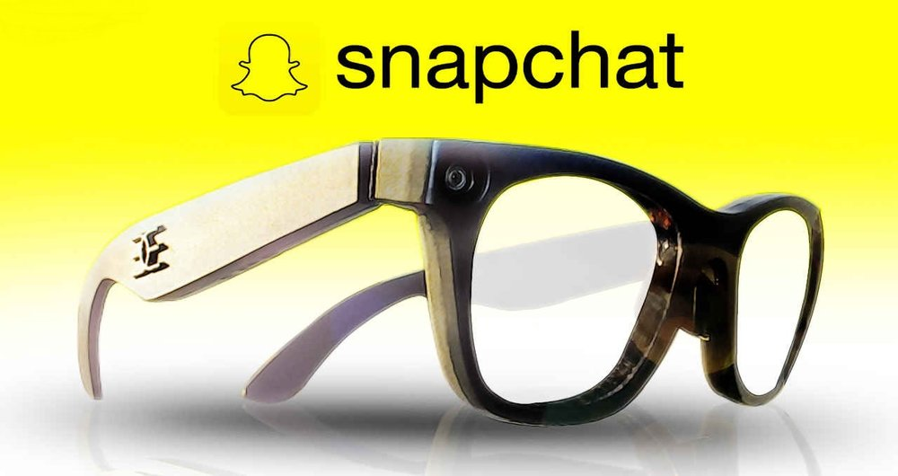 عینک هوشمند Snapchat