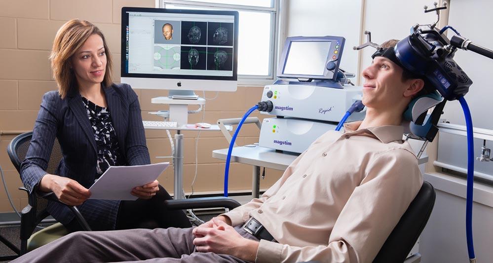 تحریک مغناطیسی مغز برای درمان بیاشتهایی