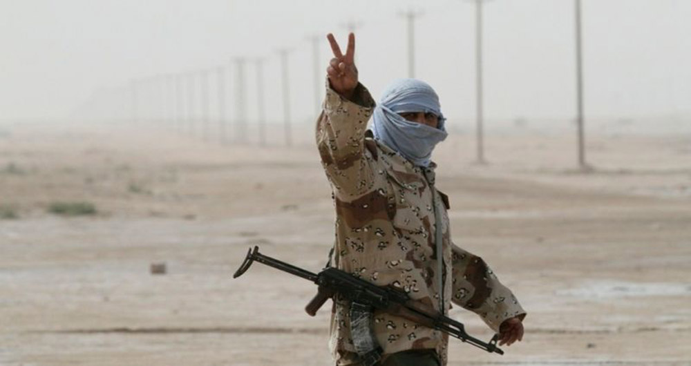 شناسایی تروریست ها با تحلیل نماد V دست آن ها