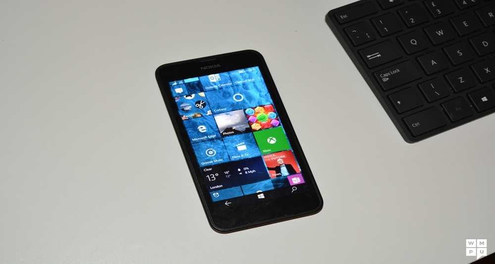 ویندوز 10 نسخه موبایل